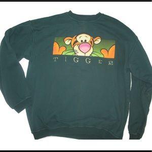 Disney Sweaters - Vintage Disney Mickey inc tigger crew neck sweater